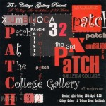 exhibition - patch - invitation - april 2008 - college gallery - qca - brisbane